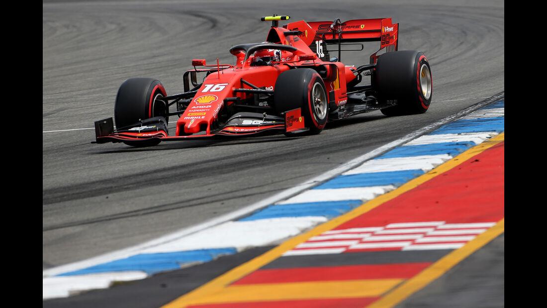 Charles Leclerc - Ferrari - GP Deutschland 2019 - Hockenheim - Qualifying