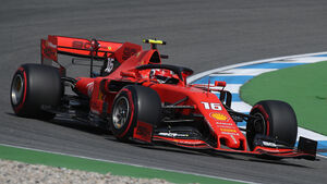 Charles Leclerc - Ferrari - GP Deutschland 2019 - Hockenheim