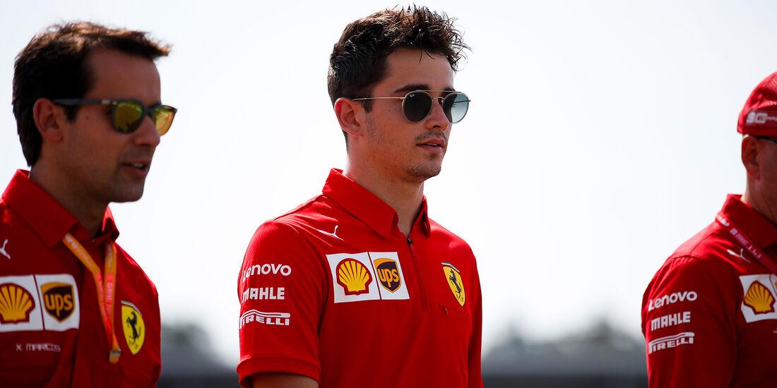 Charles Leclerc - Ferrari - GP Deutschland - Hockenheim - Formel 1 - 25.07.2019