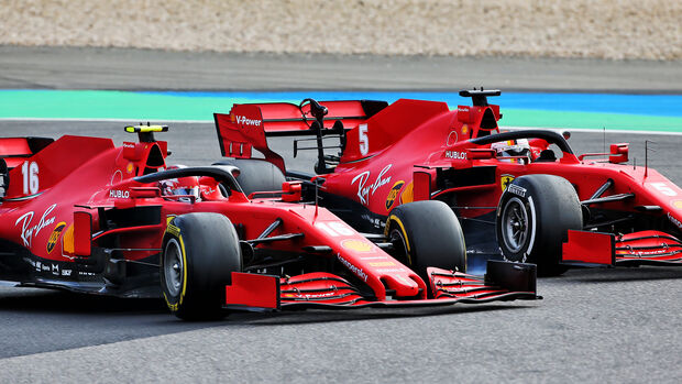 Charles Leclerc - Ferrari - GP Eifel 2020 - Nürburgring