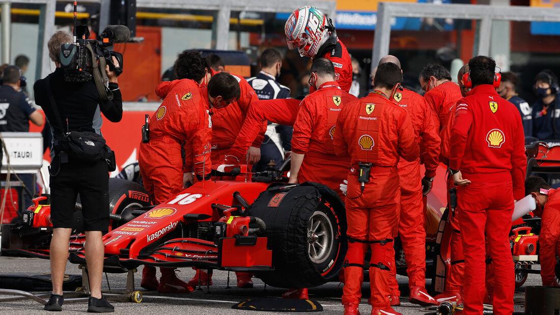 Charles Leclerc - Ferrari - GP Emilia-Romagna 2020 - Imola - Rennen