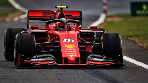 Charles Leclerc - Ferrari - GP England 2019