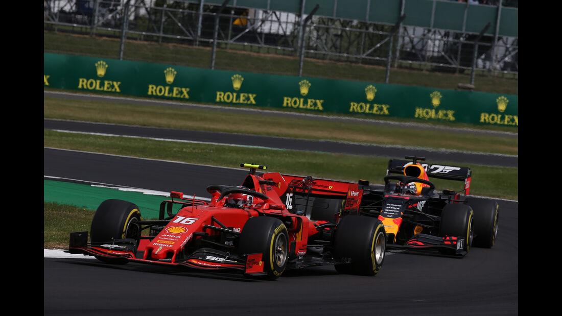 Charles Leclerc - Ferrari - GP England 2019 - Silverstone - Rennen