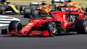 Charles Leclerc - Ferrari - GP England 2020 - Silverstone