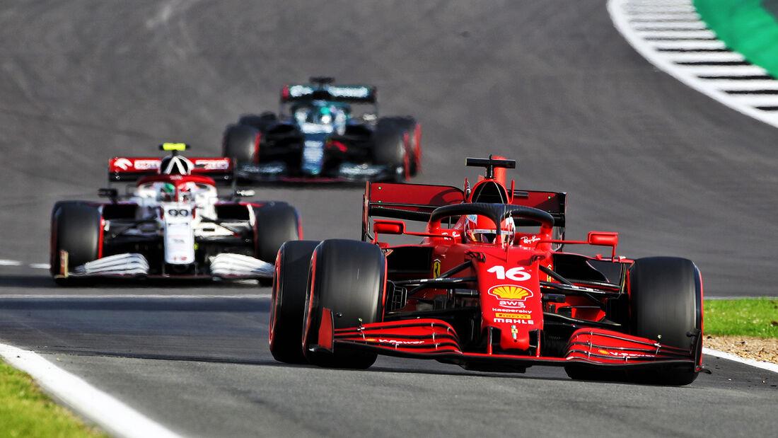 Charles Leclerc - Ferrari - GP England - Silverstone  - Formel 1 - 16. Juli 2021