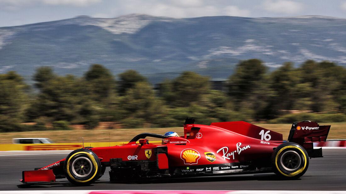 Charles Leclerc - Ferrari - GP Frankreich - Le Castellet - Paul Ricard Circuit - 18. Juni 2021