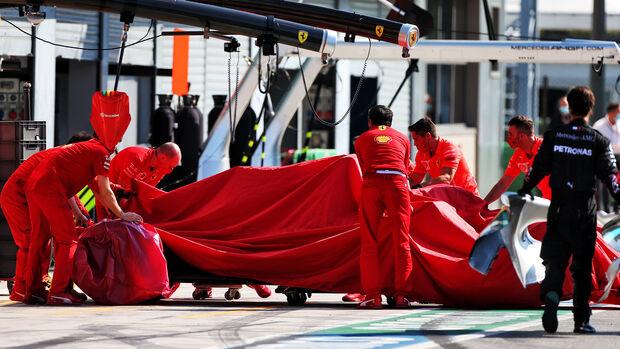 Charles Leclerc - Ferrari - GP Italien 2020 - Monza - Rennen