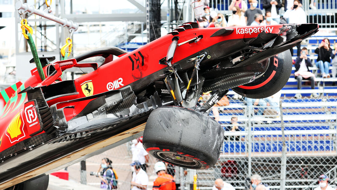 Charles Leclerc - Ferrari - GP Monaco - 2021