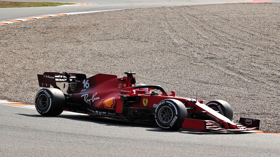 Charles Leclerc - Ferrari - GP Niederlande - Zandvoort - Formel 1 - 3. September 2021