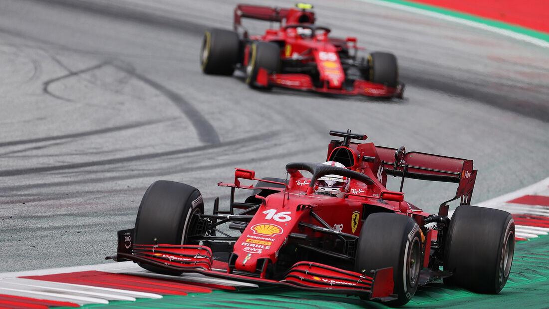 Charles Leclerc  -Ferrari - GP Österreich 2021 - Spielberg - Rennen