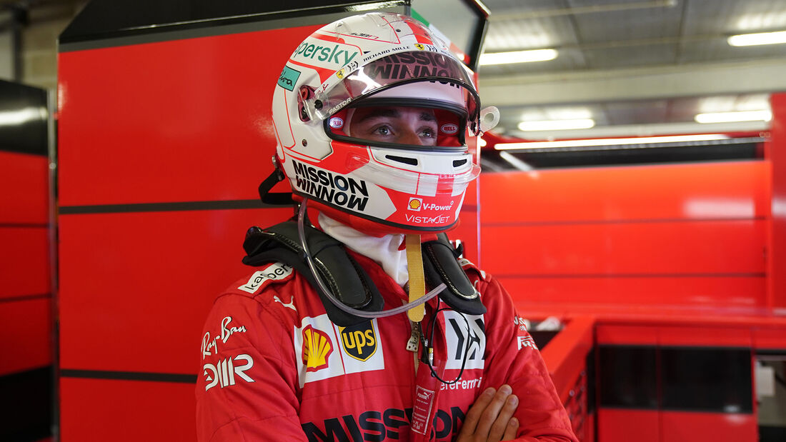 Charles Leclerc - Ferrari - GP Portugal - Portimao - 1. Mai 2021