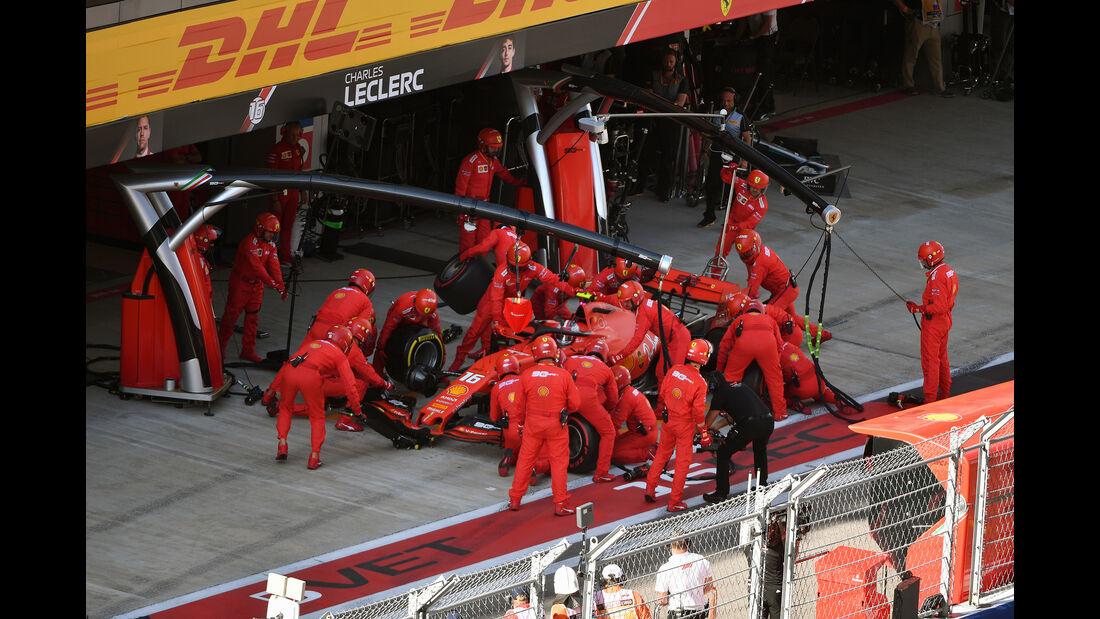 Charles Leclerc - Ferrari - GP Russland 2019 - Sochi Autodrom - Rennen
