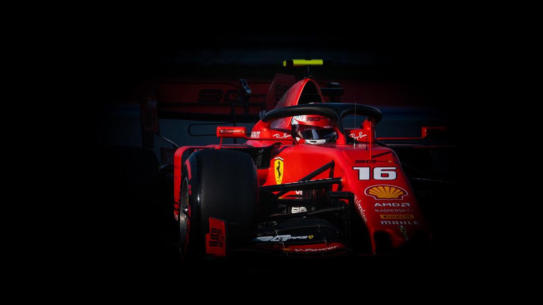 Charles Leclerc - Ferrari - GP Russland 2019 - Sotschi - Qualifying