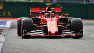 Charles Leclerc - Ferrari - GP Russland 2019 - Sotschi