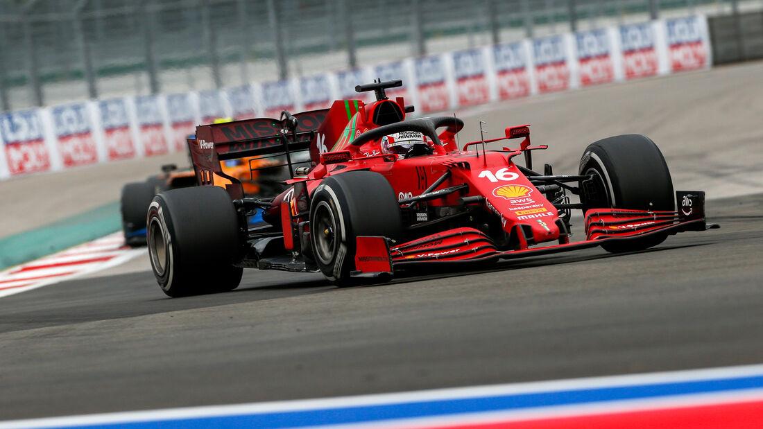 Charles Leclerc - Ferrari - GP Russland 2021 - Sotschi