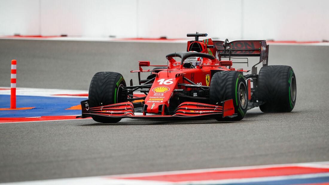 Charles Leclerc - Ferrari - GP Russland 2021 - Sotschi - Samstag