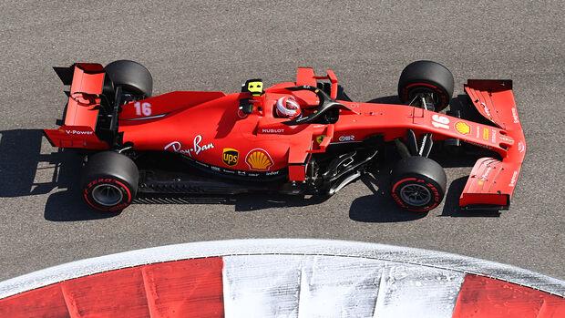 Charles Leclerc - Ferrari - GP Russland - Sotschi - Formel 1 - 2020