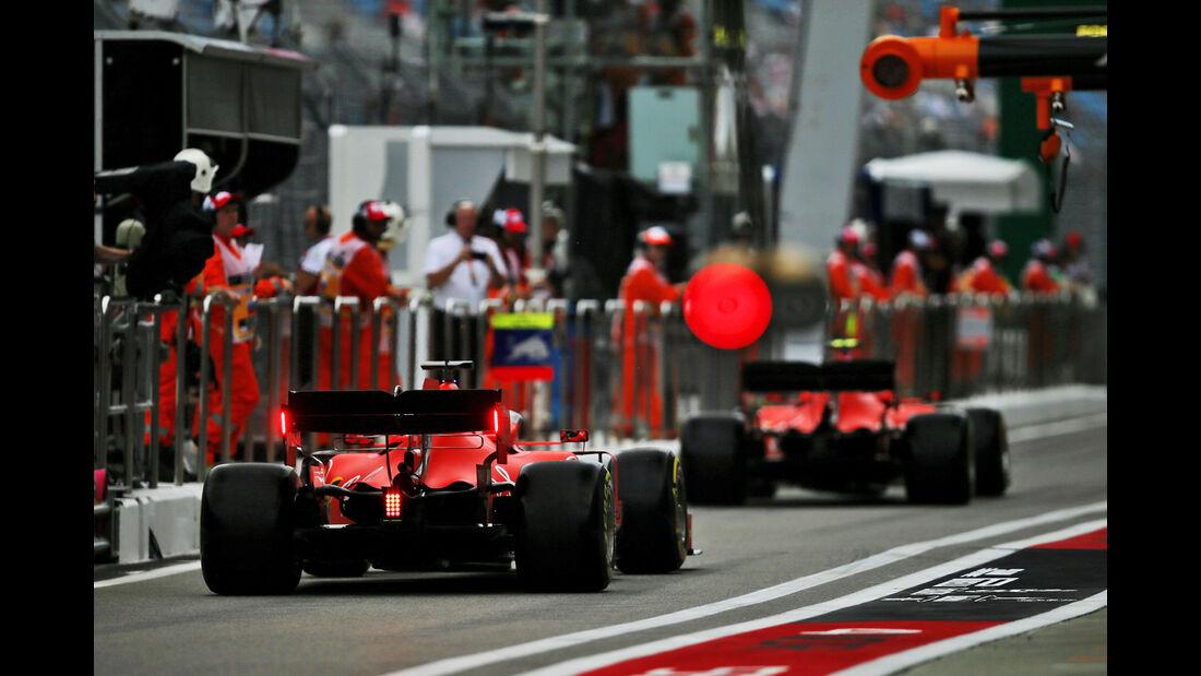 Charles Leclerc - Ferrari - GP Russland - Sotschi - Formel 1 - Freitag - 27.9.2019