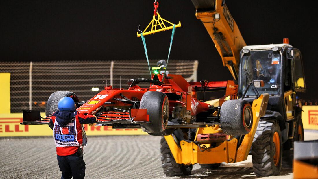 Charles Leclerc - Ferrari - GP Sakhir 2020 - Bahrain - Rennen