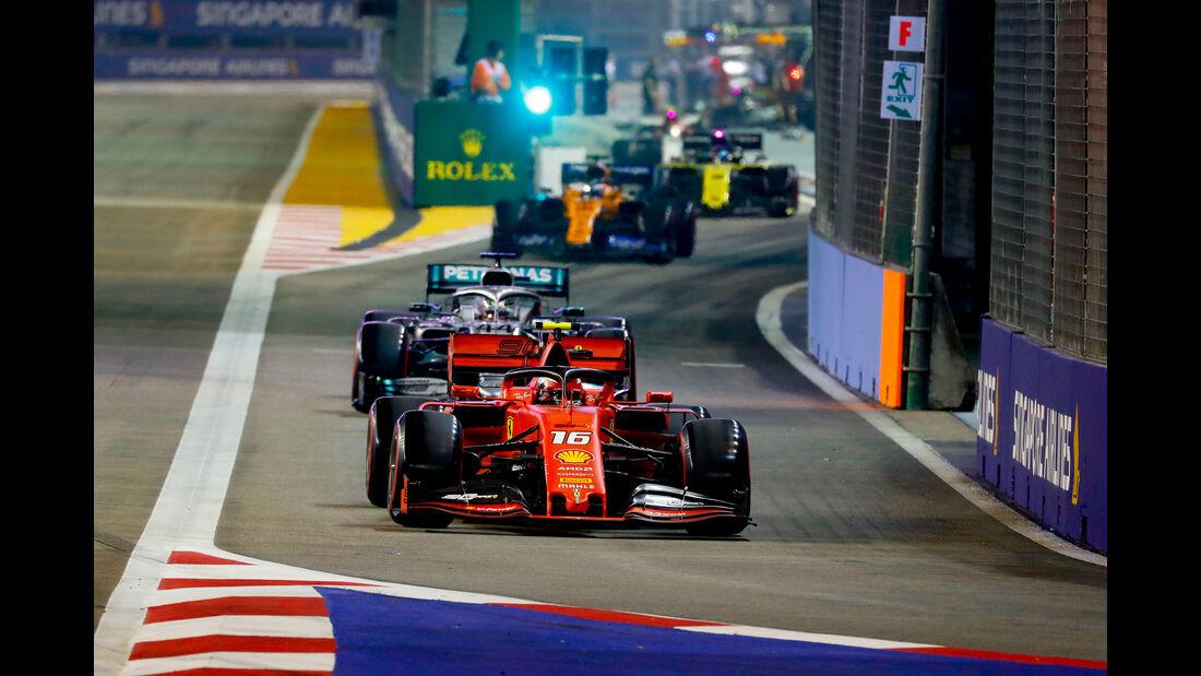Charles Leclerc - Ferrari - GP Singapur 2019 - Qualifying