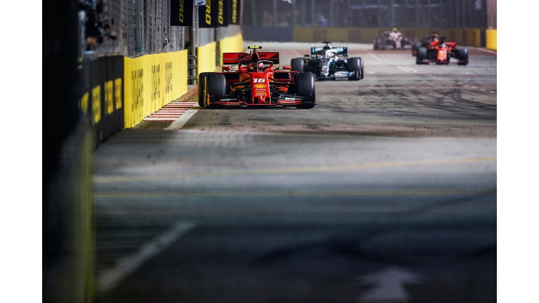 Charles Leclerc - Ferrari - GP Singapur 2019 - Rennen