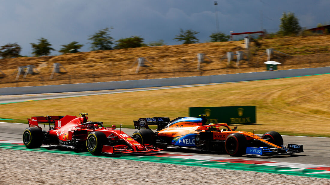 Charles Leclerc - Ferrari - GP Spanien 2020 - Barcelona