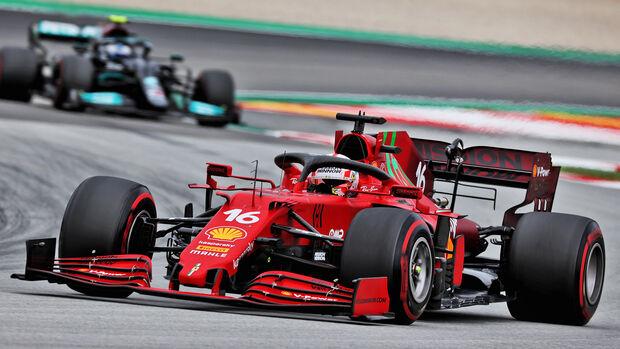 Charles Leclerc - Ferrari - GP Spanien 2021