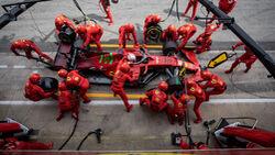 Charles Leclerc - Ferrari - GP Spanien 2021 - Rennen