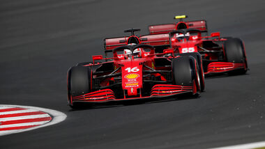 Charles Leclerc - Ferrari - GP Türkei 2021