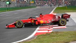 Charles Leclerc - Ferrari - GP Türkei - Istanbul - Formel 1 - 9. Oktober 2021