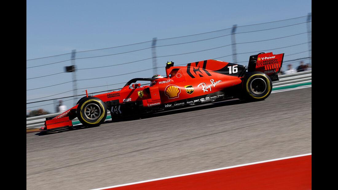 Charles Leclerc - Ferrari - GP USA 2019 - Austin - Rennen