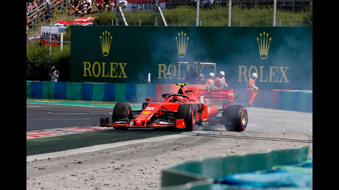 Charles Leclerc - Ferrari - GP Ungarn 2019 - Budapest - Qualifying