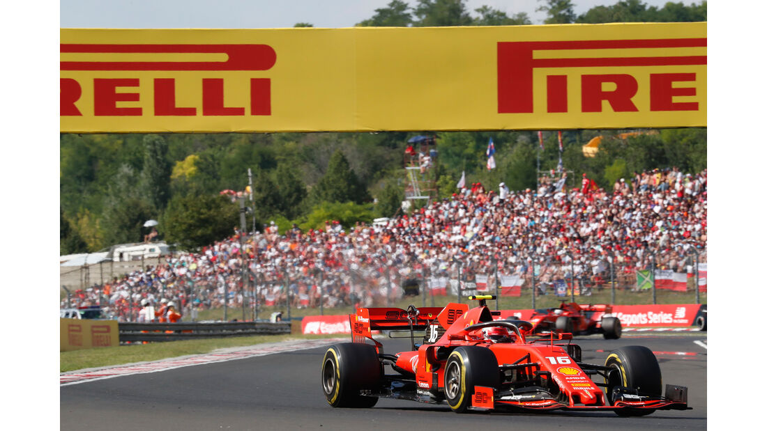 Charles Leclerc - Ferrari - GP Ungarn 2019 - Budapest - Rennen