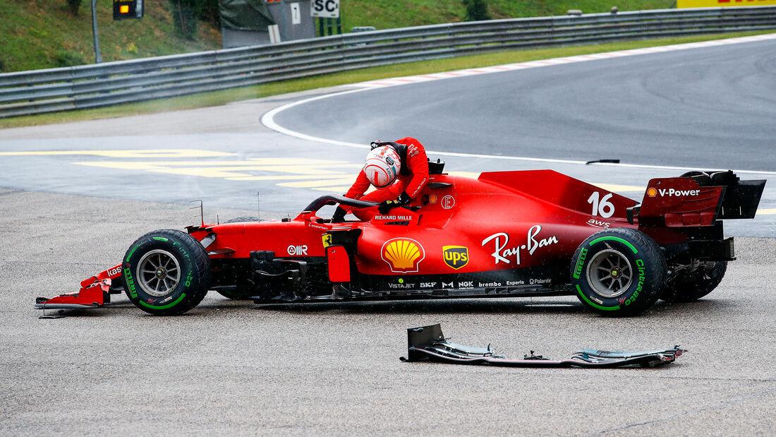 Charles Leclerc - Ferrari - GP Ungarn 2021 - Budapest - Rennen