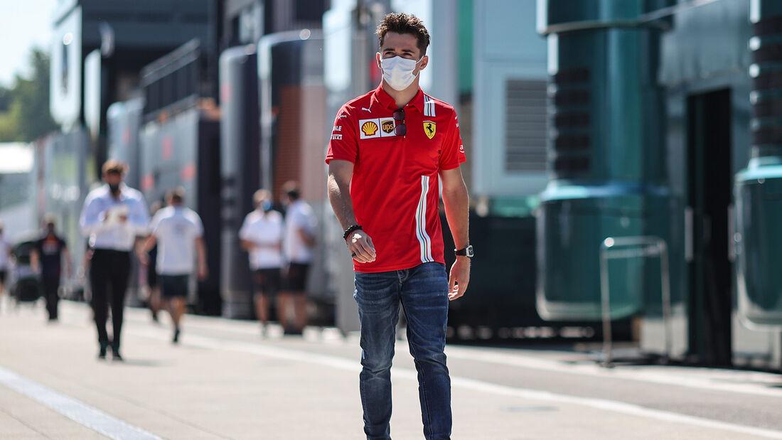 Charles Leclerc - Ferrari - GP Ungarn - Budapest - Donnerstag - 29. Juli 2021