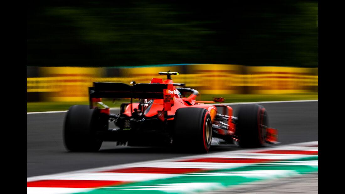 Charles Leclerc - Ferrari - GP Ungarn - Budapest - Formel 1 - Freitag - 1.8.2019
