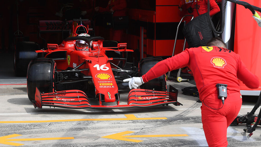 Charles Leclerc - Ferrari - Imola - Formel 1 - GP Emilia Romagna - 17. April 2021