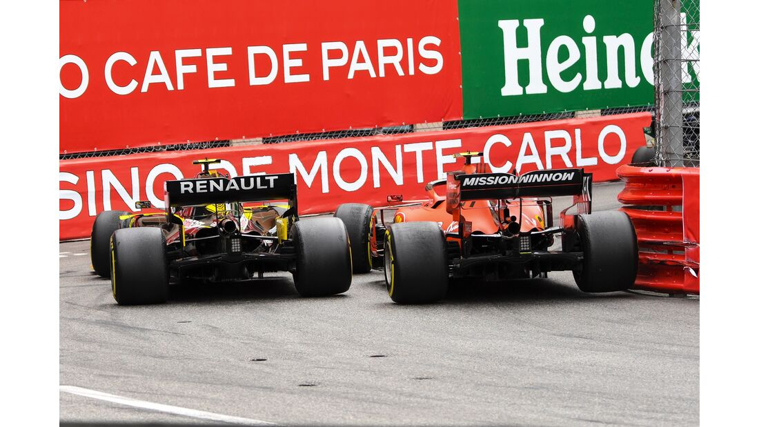 Charles Leclerc - Ferrari - Nico Hülkenberg - Renault - Formel 1 - GP Monaco - 26. Mai 2019