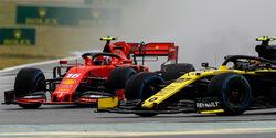 Charles Leclerc - Ferrari - Nico Hülkenberg - Renault - GP Deutschland