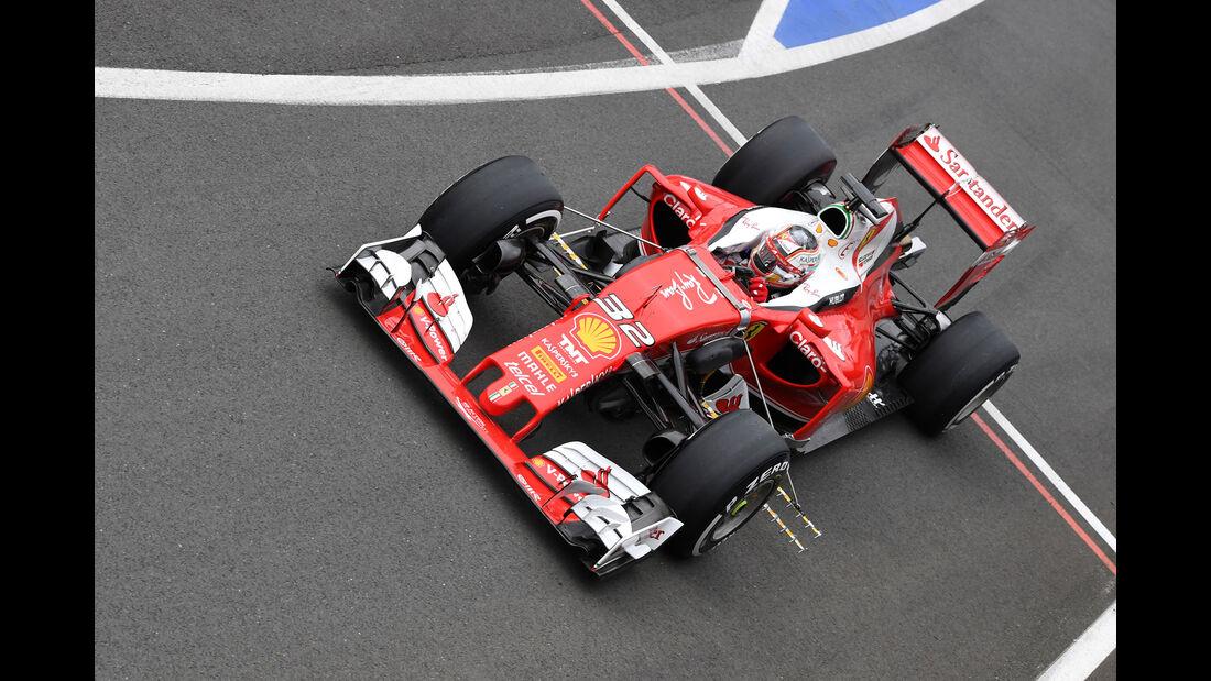 Charles Leclerc - Ferrari SF16-H - Testfahrten