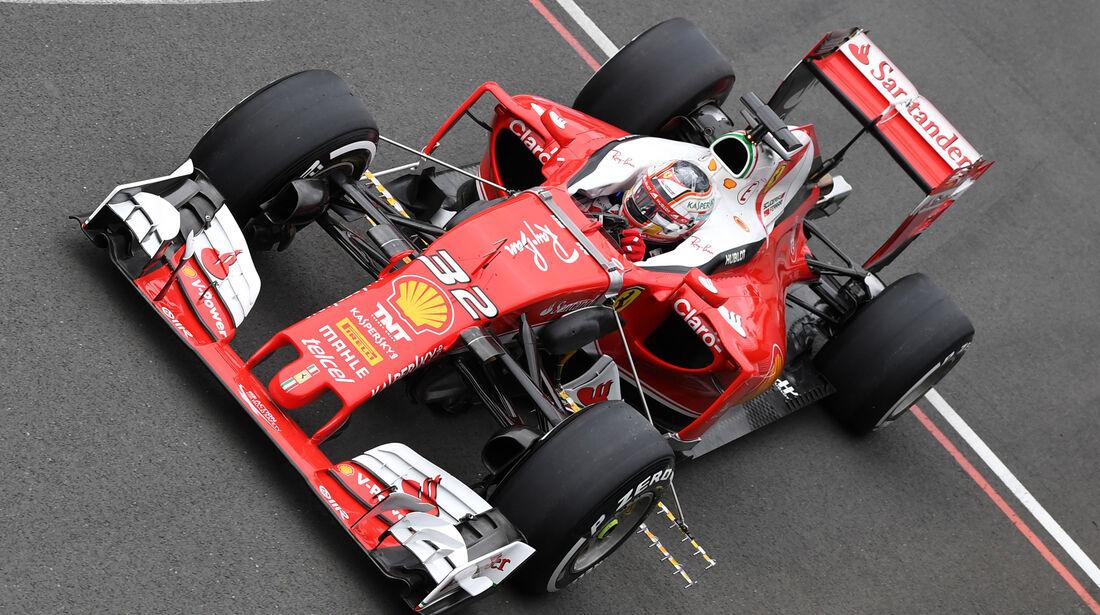 Charles Leclerc - Ferrari - Silverstone-Test - 12- Juli 2016