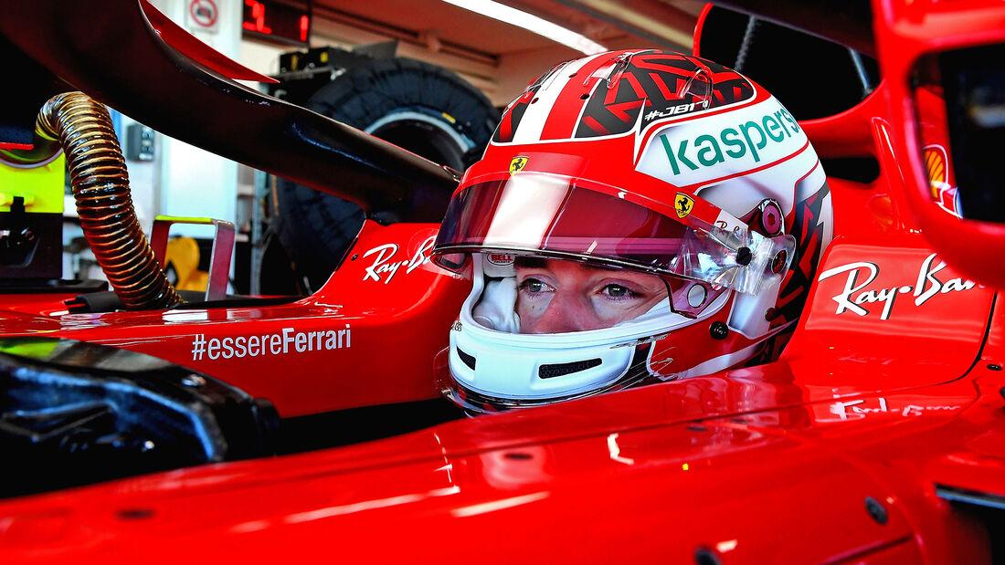 Charles Leclerc - Ferrari -  Test - Fiorano - 2021