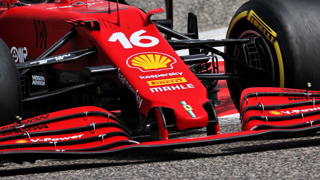 Charles Leclerc - Ferrari - Test - Formel 1 - Bahrain - 12. März 2021
