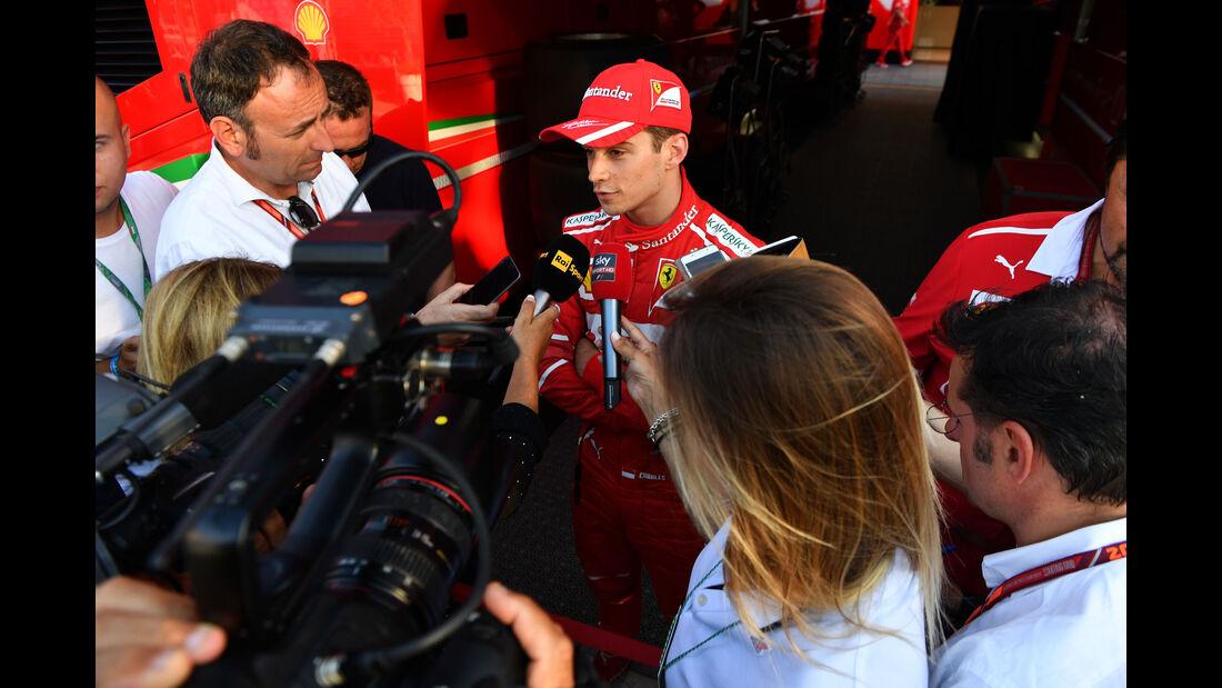 Charles Leclerc - Ferrari - Testfahrten - Ungarn 2017