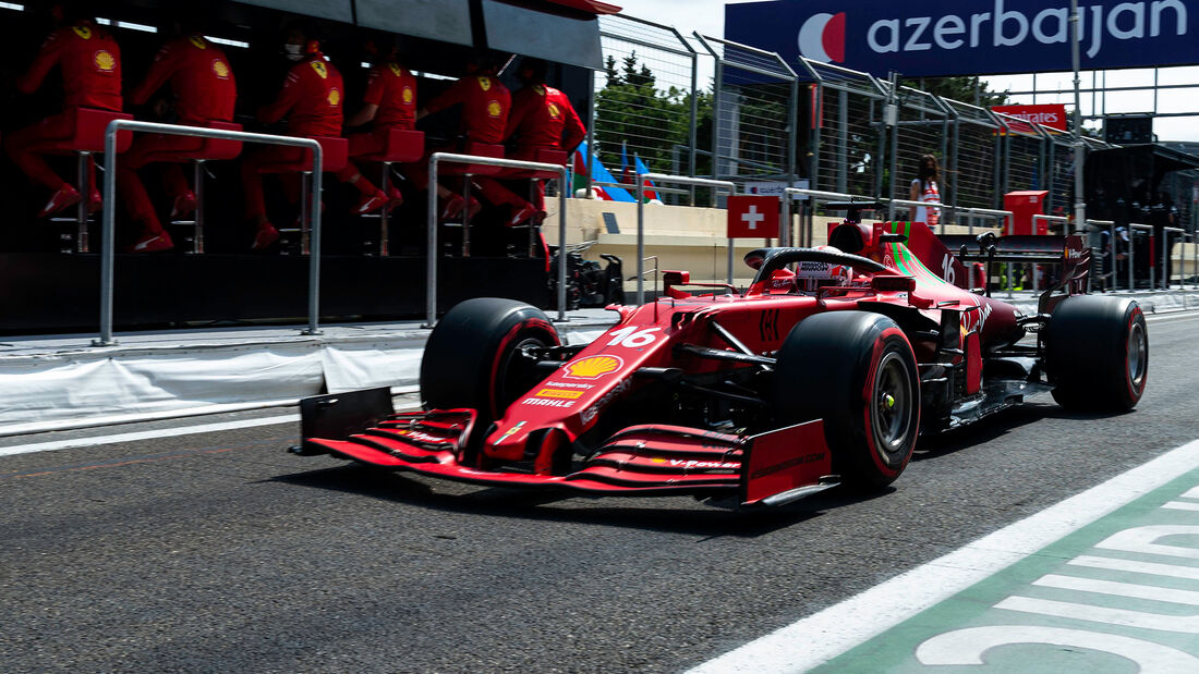 Charles Leclerc - Formel 1 - GP Aserbaidschan 2021