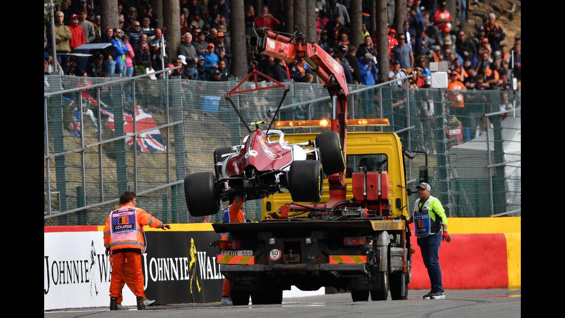 Charles Leclerc - Formel 1 - GP Belgien 2018