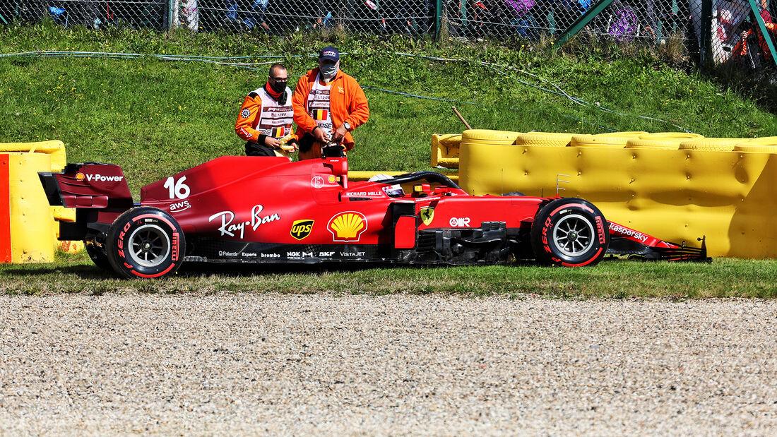 Charles Leclerc - Formel 1 - GP Belgien - Spa-Francorchamps - 27. August 2021
