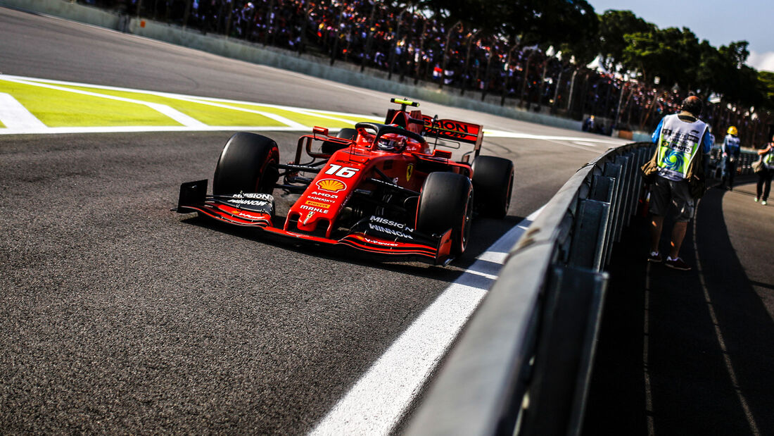 Charles Leclerc - Formel 1 - GP Brasilien 2019