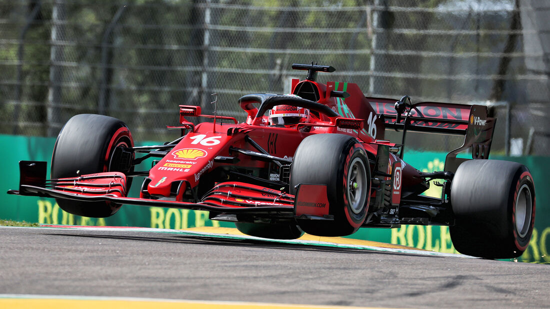 Charles Leclerc - Formel 1 - GP Emilia Romagna - Imola 2021