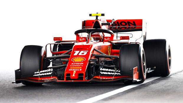 Charles Leclerc - Formel 1  - GP Japan 2019